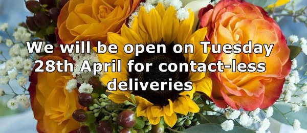 Fresh Flowers contact-less delivery from Flower Biz Christchurch