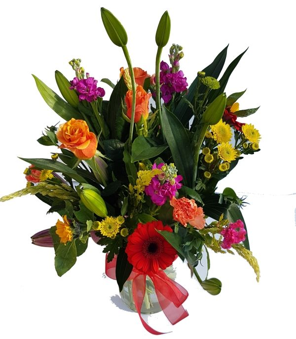 Florist Flowers and Vase