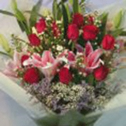 Fresh Mixed Mothers Day Bouquet from Flower Biz Christchurch